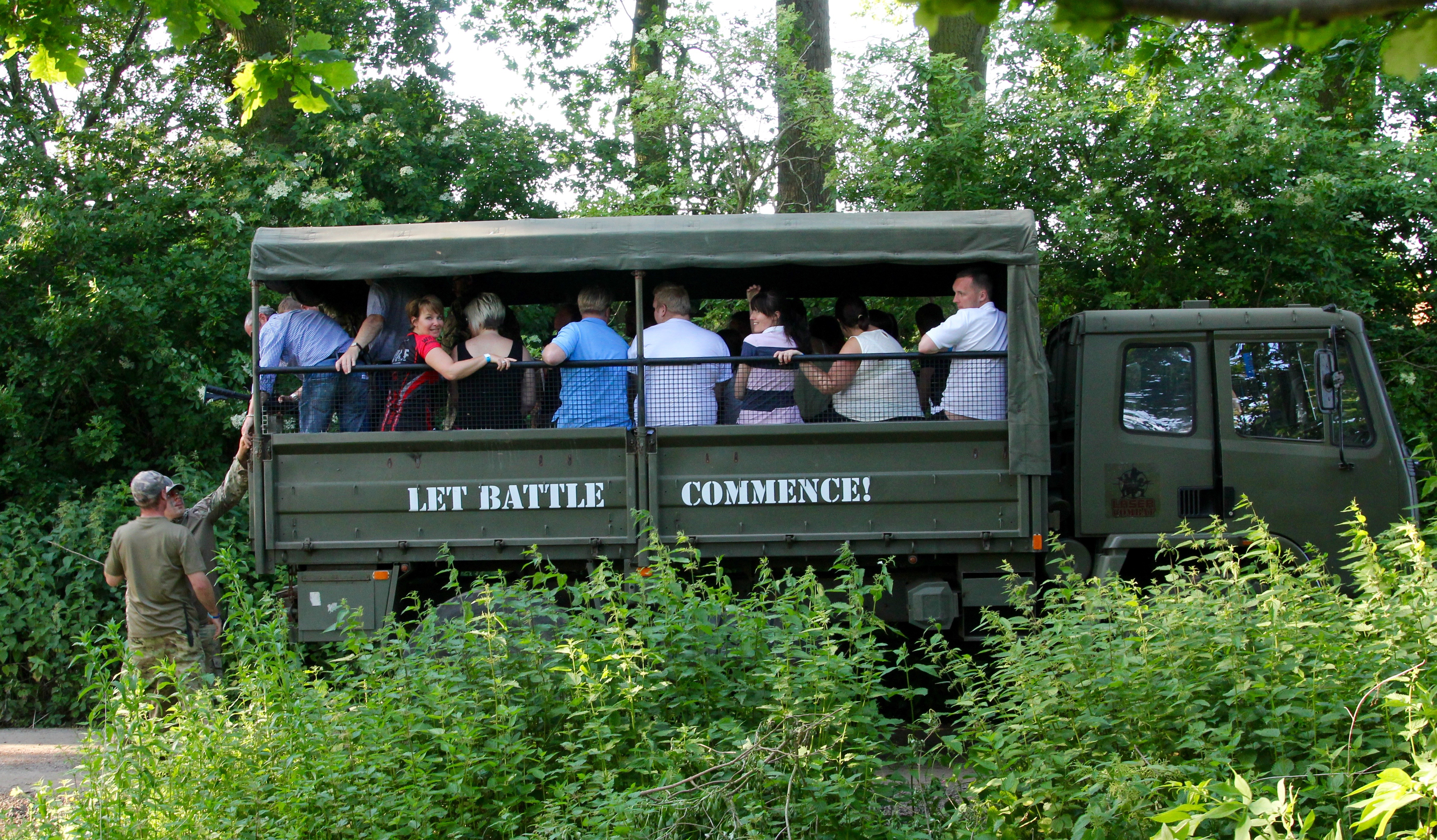 combatants-transported-to-battle-field-in-army-truck